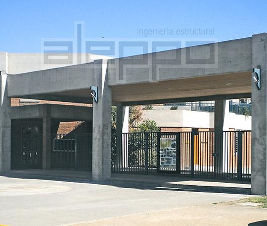 Colegio San Nicolás. Diseño Estructural de ALEPPO. Empresa de Ingeniería Estructural